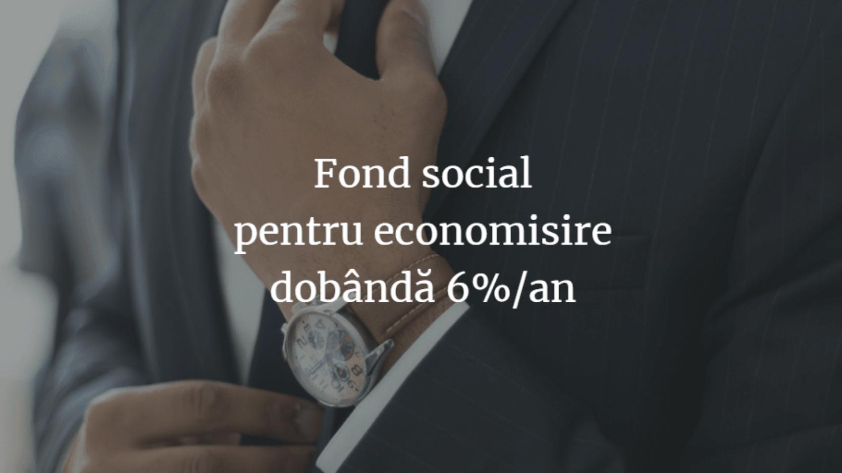 fond social pt economisire