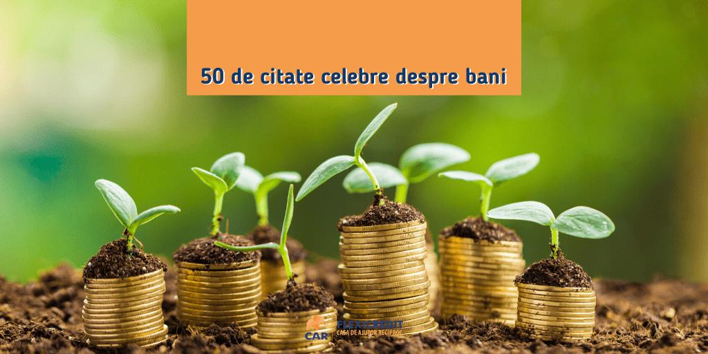 50 de citate celebre despre bani